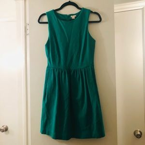 Bright Green J.Crew Dress